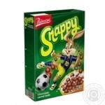 Сніданок готовий хрусткі кульки Cerera з какао Snappy 500г
