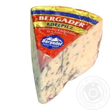Сыр Бергадер Эделпилц с плесенью 50% Германия - купить, цены на Novus - фото 1
