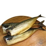 Fish atlantic mackerel cold-smoked big