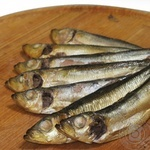 Fish sprat hot-smoked
