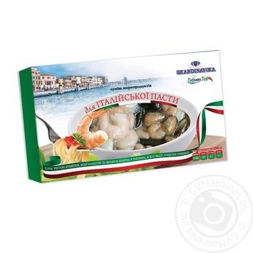 Смесь морепродуктов ТМ Skandinavika для Итальянской пасты 400г Украина