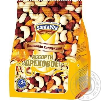 Асорті Santavita горіхове 200г - купити, ціни на МегаМаркет - фото 1