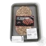 Котлета гамбургерна з м'яса ягня Class TР в/у ваг - купить, цены на Novus - фото 1