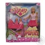 Набір ляльковий Штеффі з колискою Simba