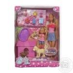 Кукла Simba Steffi Love Steffi и Evi с животными