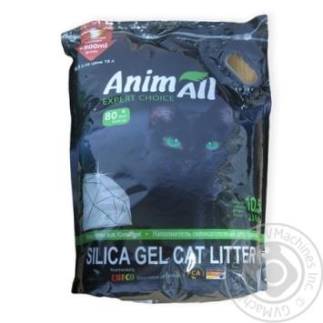 Наполнитель Animall для кошачьего туалета силикагель 10,5л - купить, цены на Novus - фото 2