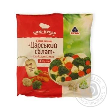 Смесь овощная Рудь Царский салат быстрозамороженная 400г - купить, цены на Фуршет - фото 2