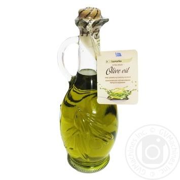 Олія оливкова нерафінована першого віджиму Kamarko 500 мл скляна пляшка - купить, цены на Novus - фото 1