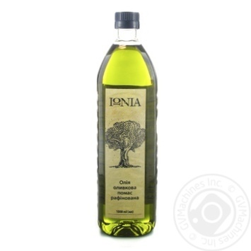 IONIA pomas rafined olive oil 1l - buy, prices for Novus - image 1