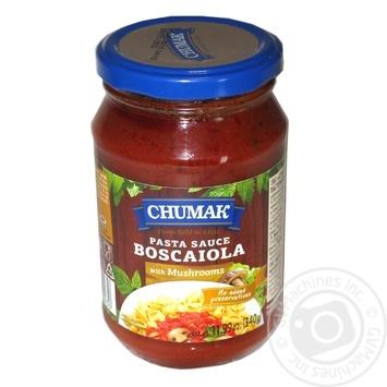 Соус Чумак Боскайола к спагетти с грибами 340г - купить, цены на Восторг - фото 2