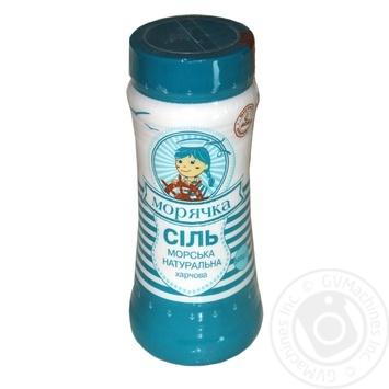 Salt Moriachka sea salt 500g plastic jar