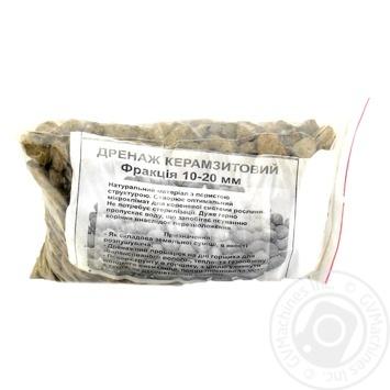 Дренаж для квітів керамзитовий Забава 1,5л - купить, цены на Novus - фото 1
