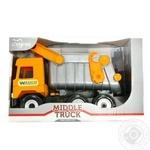 Игрушка Tigres Middle Truck самосвал