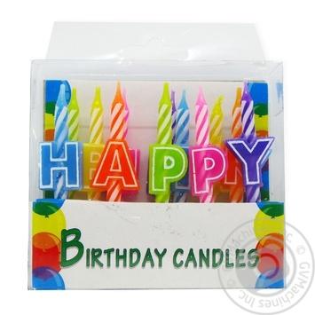 Свічки для торту Heppi 13шт Koopman
