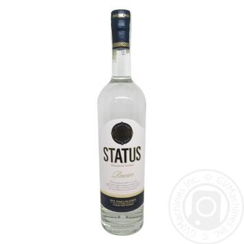 Водка Status Reserve 40% 0,7л - купить, цены на Novus - фото 3