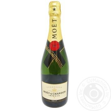 Шампанское Moet&Chandon Imperial Brut белое 12% 0,75л