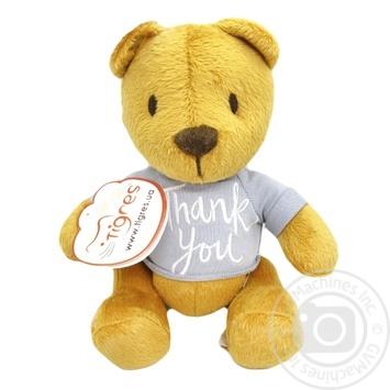 Іграшка м'яка Tigres Ведмедик Денні Thank You 20см
