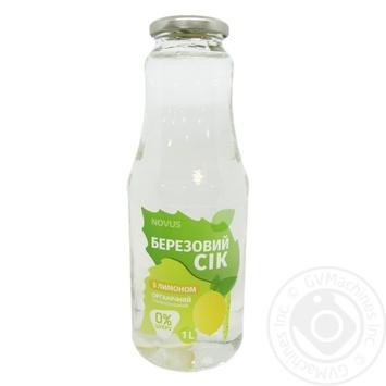Novus Cheerfulness Birch Sap with Lemon 1l