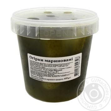Огурцы Чудова Марка соленые 1кг - купить, цены на Novus - фото 1
