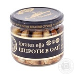 Sprats Ekvator in oil 250g glass jar