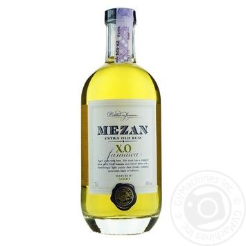 Mezan Jamaican X.O. rum 40% 0.7l - buy, prices for Novus - image 1