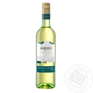 Вино Andes Sauvignon Blanc біле сухе 12,5% 0,75л - купити, ціни на Novus - фото 1