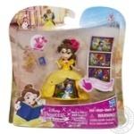 Лялька пластмасова маленька серії Принцеси Дісней лялька в платті з чарівною спідницею, в асорт.HASBRO
