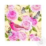 Luxy Pink Bird Napkins 33x33cm 3 layers 20pcs