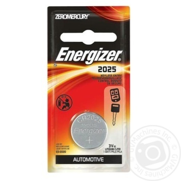 Батарейка Energizer Lithium CR2025 - купить, цены на Novus - фото 1