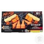 Набор игровой Hasbro Nerf Alpha Strike Nerf Fang QS4 2 бластера и мишени