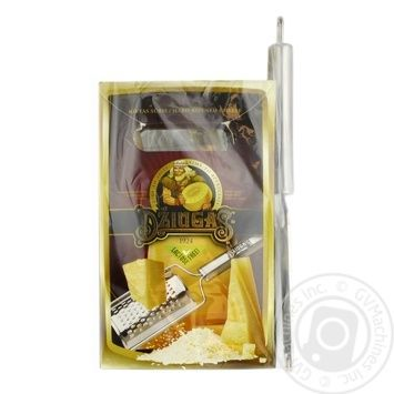 Dziugas 12 Month Lactose Free Hard Cheese 350g + Grater - buy, prices for Novus - image 1