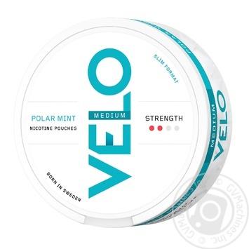Нікотинові подушечки Velo Polar Mint Medium - купить, цены на Novus - фото 1