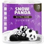 Snow Panda Superior Four-Layer Toilet Paper 8pc