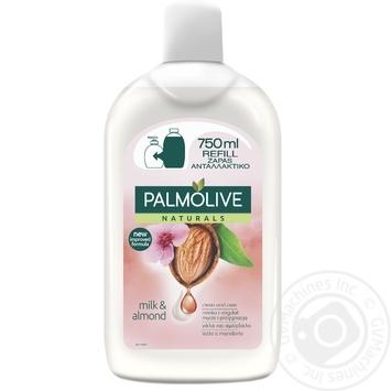Жидкое мыло Palmolive Натурель Увлажнение молочко и миндаль для чувствительной кожи сменный блок 750мл - купить, цены на ЕКО Маркет - фото 2