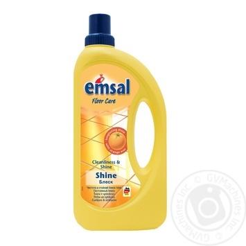 Очищувач для підлоги Emsal Glanz самоблиск 1л