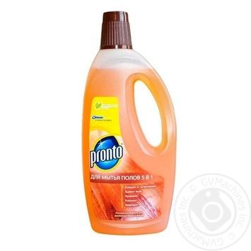 Средство Pronto Классик для мытья деревянных полов 750мл - купить, цены на МегаМаркет - фото 1