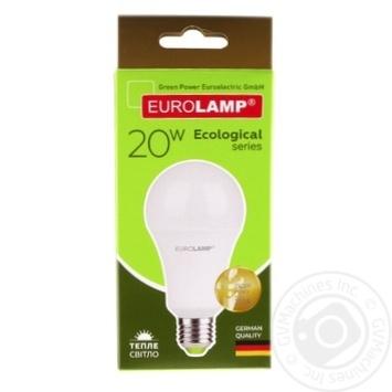 Лампа Eurolamp светодиодная A75 20W E27 3000K