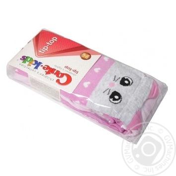 Колготки дитячі Conte Kids Tip-Top 17С-60СП розмір 92-98 14,448 світло-рожевий - купити, ціни на Novus - фото 1