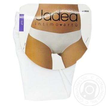 Труси-сліпи жiночі Artu Jadea 8000 B4,ОТ 68-72см,ОБ 98-102см,білий - купить, цены на Novus - фото 1