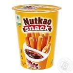 Паста шоколадная + хлебные палочки Nutkao Snack 52г