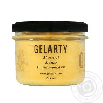 Морозиво Gelarty Айс-смузі Манго зі шматочками манго 235мл - купити, ціни на Novus - фото 1