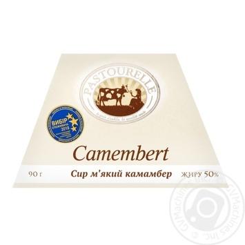 Сыр мягкий Pastourelle Камамбер 50% 90г - купить, цены на Novus - фото 1