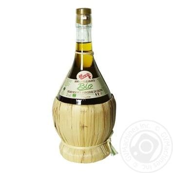 Масло Diva Oliva оливковое органическое Экстра Вирджин первого холодного отжима Премиум 1л - купить, цены на Novus - фото 1