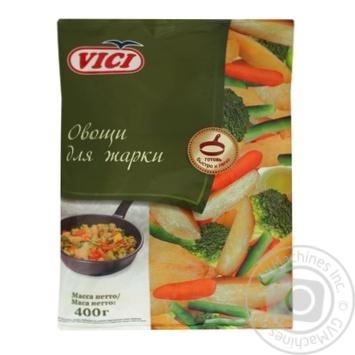 Овощи Vici для жарки быстрозамороженные 400г - купить, цены на Novus - фото 1