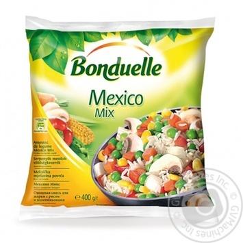Овощная смесь с рисом и шампиньонами Bonduelle Мексиканская 400г - купить, цены на СитиМаркет - фото 1
