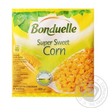 Смесь овощная Bonduelle Кукуруза в зернах 400г - купить, цены на МегаМаркет - фото 1