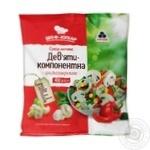 Смесь овощная Рудь Шеф-повар девятикомпонентная быстрозамороженная 400г - купить, цены на Фуршет - фото 1