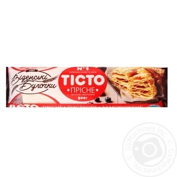 Тесто Венские Булочки пресное слоеное 500г - купить, цены на Фуршет - фото 1