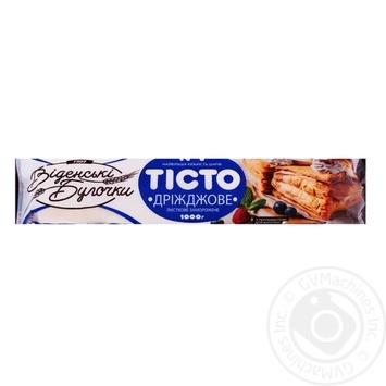 Тесто Венские Булочки дрожжевое слоеное 1000г - купить, цены на Novus - фото 1