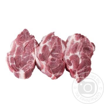 Стейк свиной из ошейка охлажденный без кости - купить, цены на Novus - фото 1